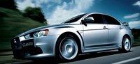 2013 Mitsubishi Lancer Evolution, Front quarter view., exterior, manufacturer