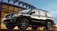 2013 Nissan Armada, Front quarter view., exterior, manufacturer