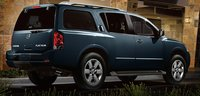 2013 Nissan Armada, Back quarter view., exterior, manufacturer