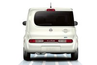 2013 Nissan Cube, Back View., exterior, manufacturer