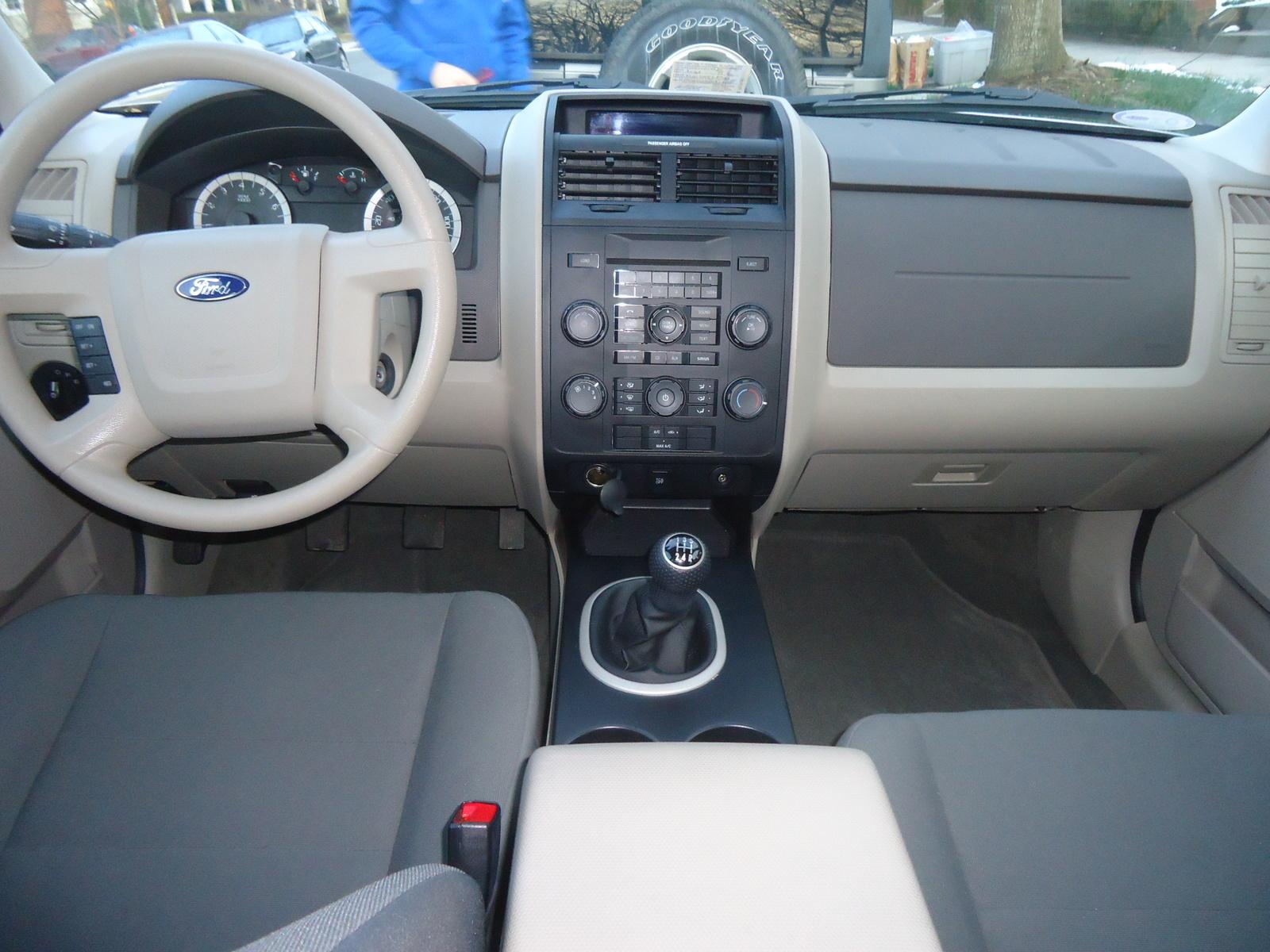 2011 Ford Escape Interior Dimensions