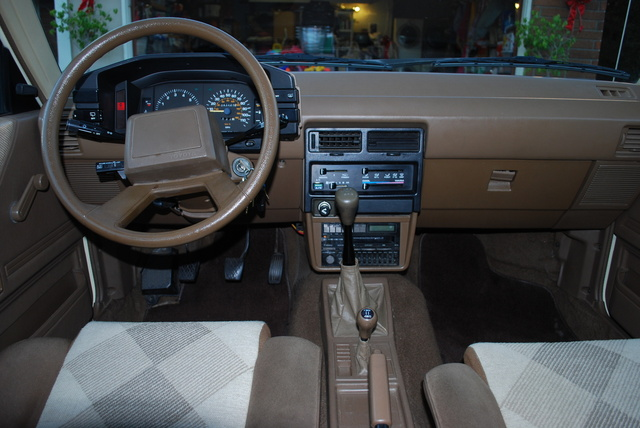 Picture of 1985 Toyota Tercel 4 Dr SR5 AWD Wagon, interior, gallery_worthy