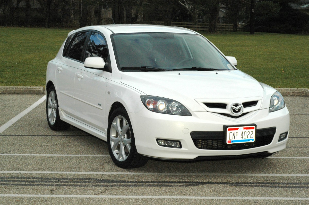 picture of 2008 mazda mazda3 s touring hatchback exterior. Black Bedroom Furniture Sets. Home Design Ideas