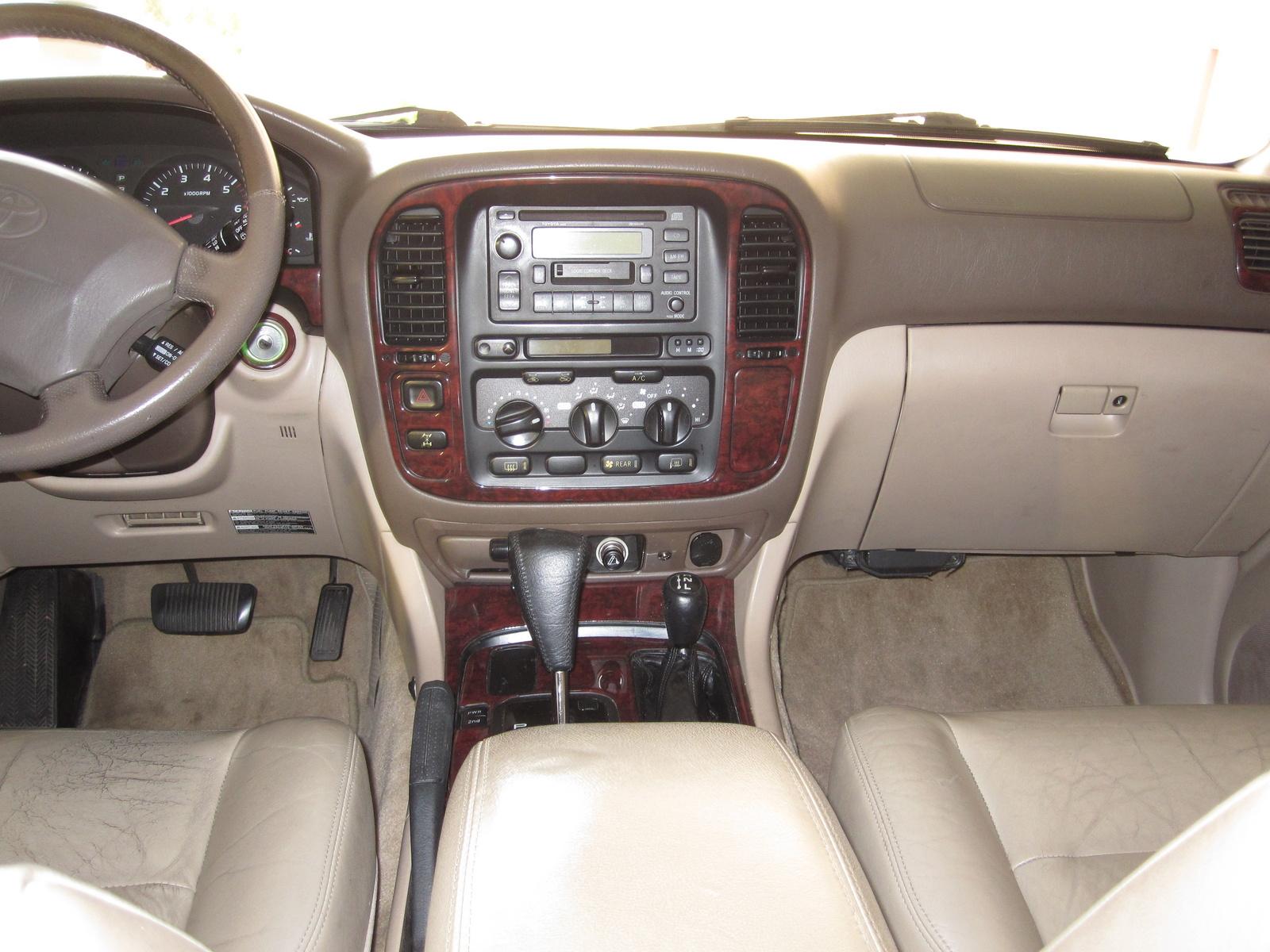 1999 toyota land cruiser interior pictures cargurus