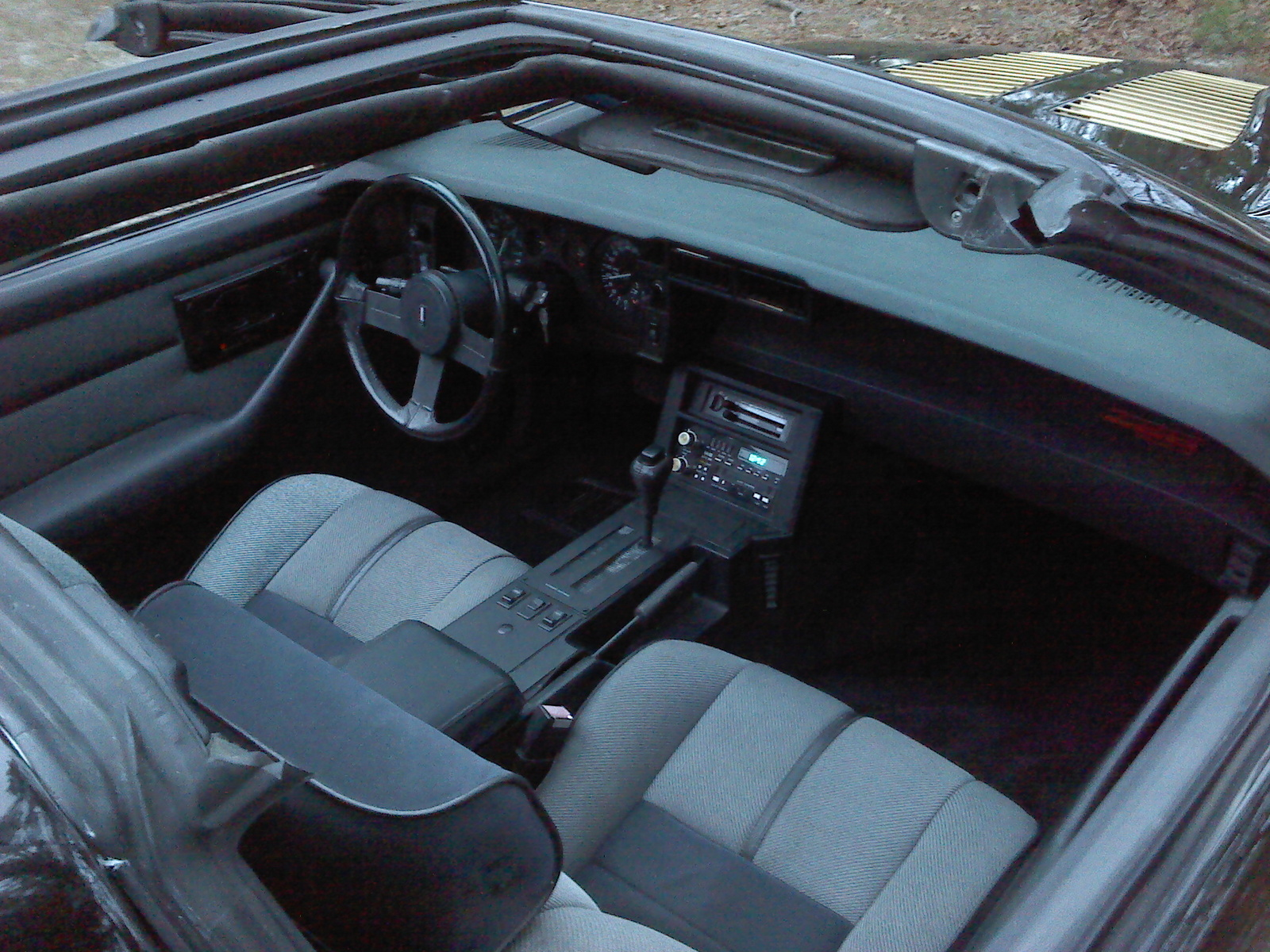 1989 chevrolet camaro interior pictures cargurus for Interior 86 camaro