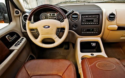 picture of 2006 ford expedition king ranch interior. Black Bedroom Furniture Sets. Home Design Ideas