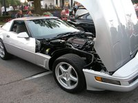 1996 Chevrolet Corvette Coupe, Picture of 1996 Chevrolet Corvette Base, engine, exterior