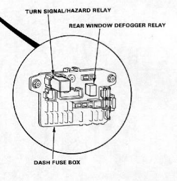 1996 Honda Accord Fuse Diagram