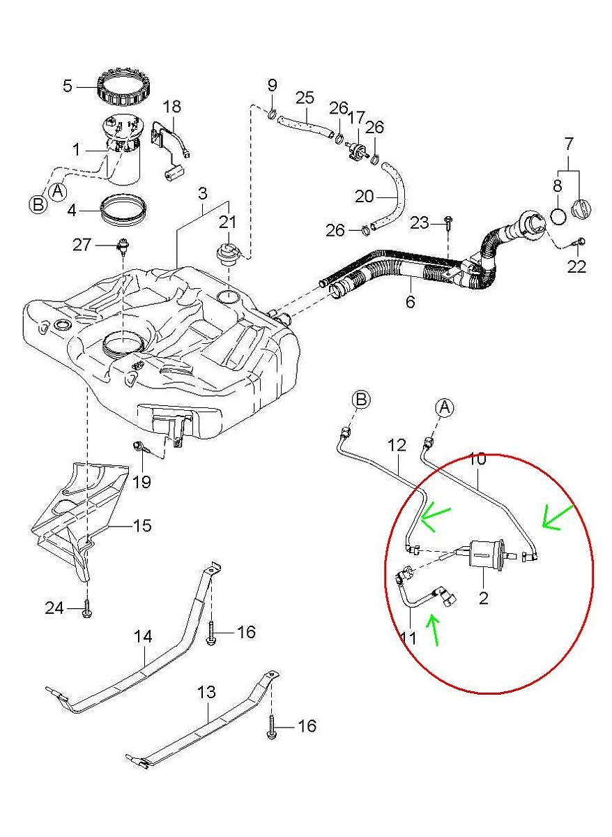 Audi Q7 Fuel Filter Location likewise How To Replace Timing Belt On Vauxhallopel Astra G 1 6i further 04 Dakota Fuel Vapor Leak Detection Hose together with Infiniti Qx56 O2 Sensor Diagram in addition Saturn Timing Belt. on audi a4 fuel filter replacement