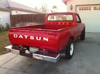1978 Datsun 620 Pick-Up, Back view, exterior, gallery_worthy