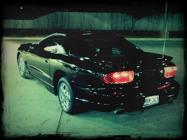 2002 Pontiac Firebird Base, The firebird at night, exterior, gallery_worthy