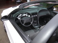 Picture of 2002 Ford Mustang GT Convertible, interior, gallery_worthy