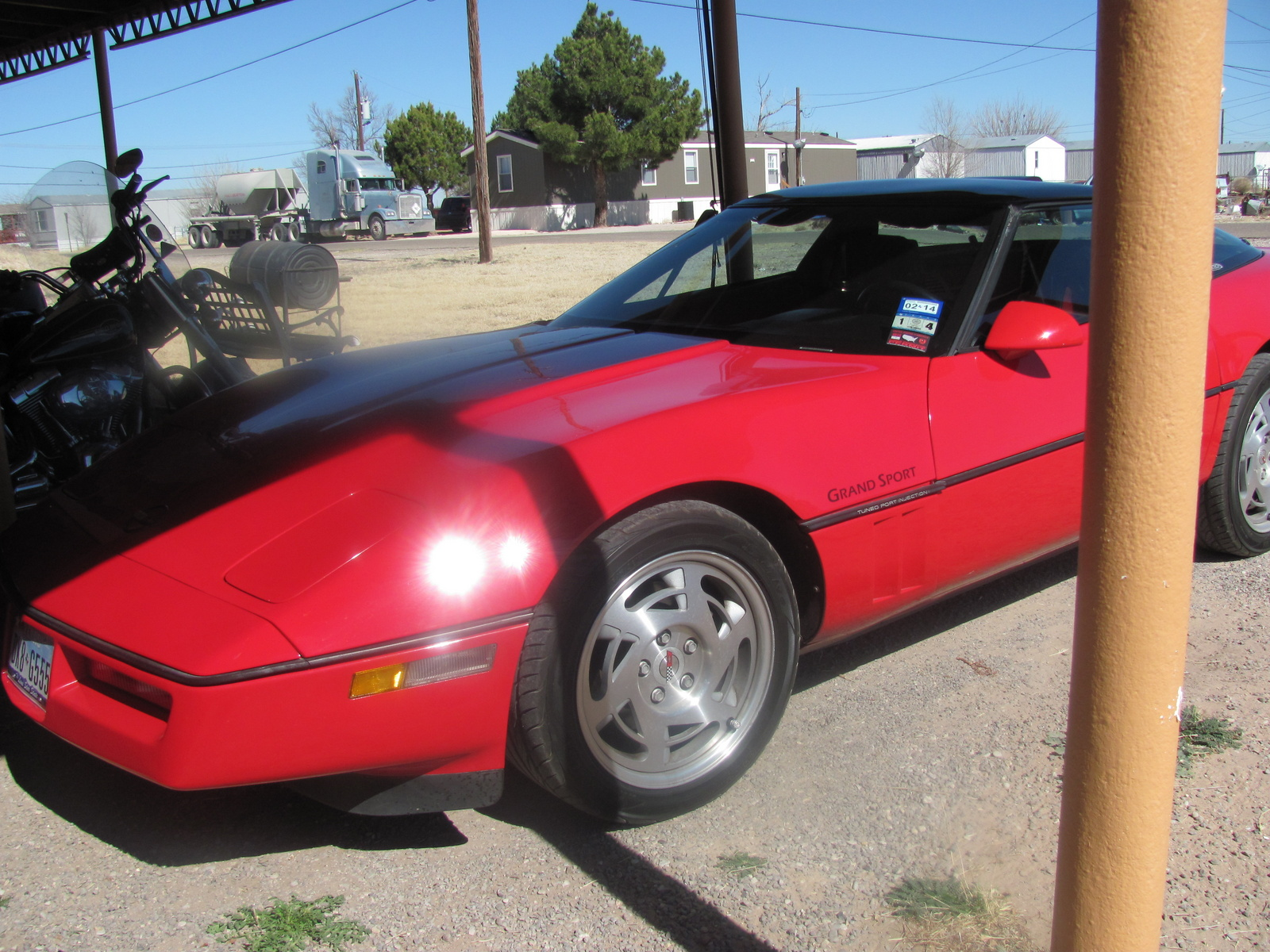 1990 Chevrolet Corvette Coupe, 1990 Chevrolet Corvette Base picture, exterior