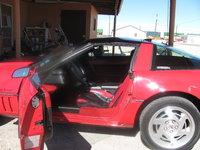 1990 Chevrolet Corvette Coupe, 1990 Chevrolet Corvette Base picture, interior