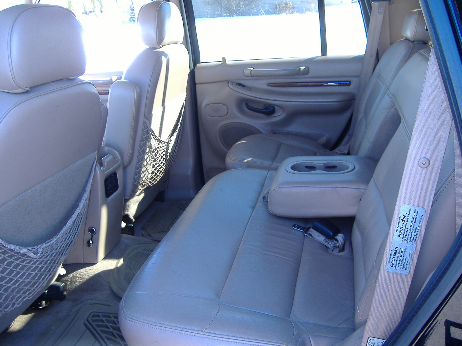 Picture Of 1998 Lincoln Navigator 4 Dr Std 4wd Suv Interior