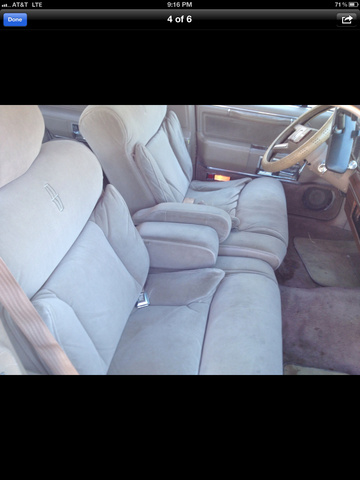 1988 Lincoln Town Car Signature, interior, interior
