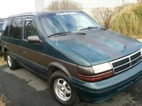 1994 Dodge Caravan 3 Dr LE Passenger Van, freshly detailed, exterior