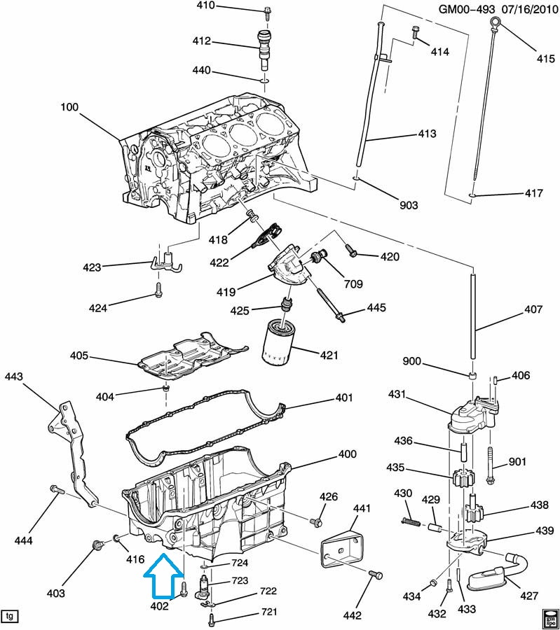 chevy 3 9 engine sensor location diagram