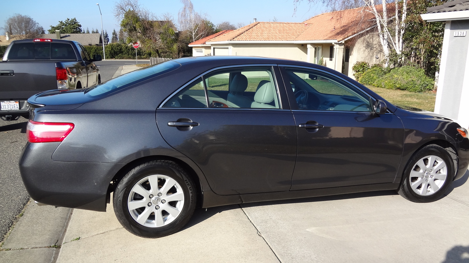 picture of 2008 toyota camry xle v6 exterior. Black Bedroom Furniture Sets. Home Design Ideas