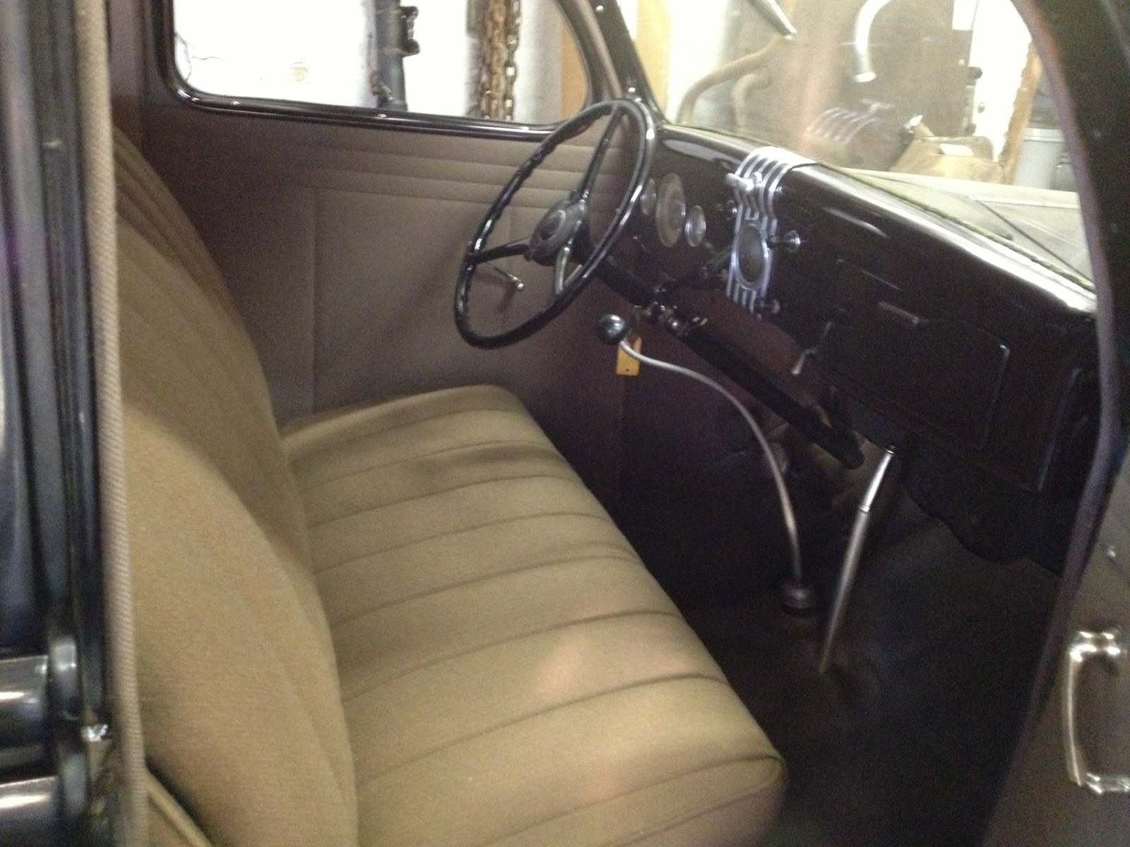 Picture of 1935 Ford Model 48, interior