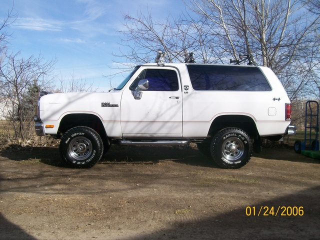 Picture of 1990 Dodge Ramcharger 2 Dr 150 LE 4WD SUV, exterior