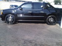 2008 Cadillac Escalade EXT 4WD, BLACK BEAUTY ON 26'S, exterior, gallery_worthy