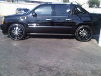 2008 Cadillac Escalade EXT Base, BLACK BEAUTY ON 26'S, exterior