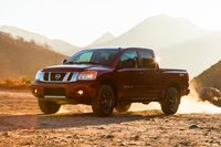 2013 Nissan Titan, Front-quarter view, exterior, manufacturer, gallery_worthy