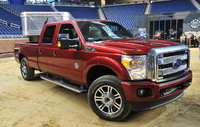 2013 Ford F-250 Super Duty, Front-quarter view, exterior, manufacturer, gallery_worthy