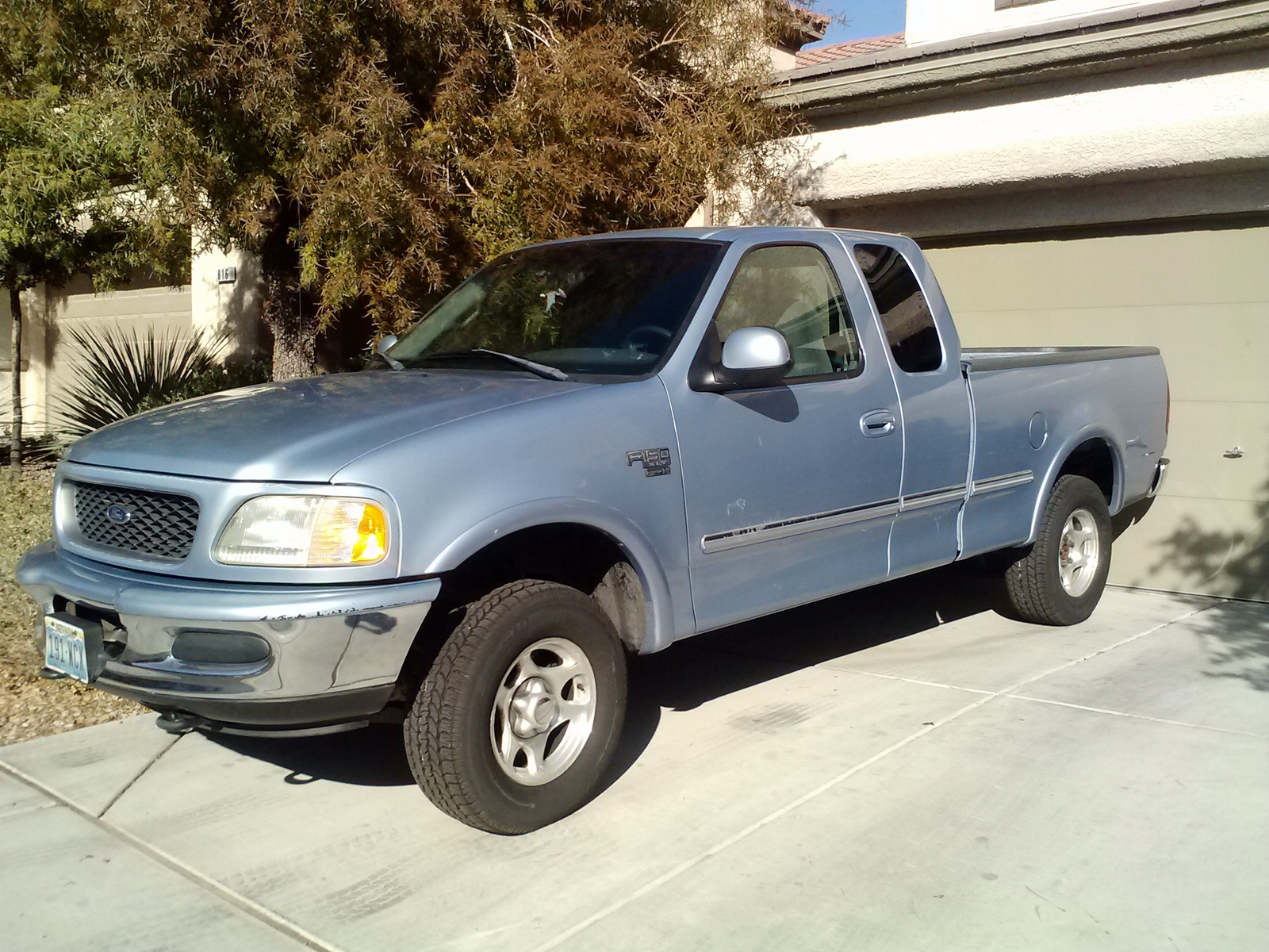 1998 Ford F-150 XLT 4WD Extended Cab LB, Picture of 1998 Ford F-150 3 Dr XLT 4WD Extended Cab LB, exterior