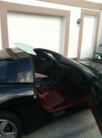 1998 Chevrolet Corvette Coupe, Picture of 1998 Chevrolet Corvette Base, interior