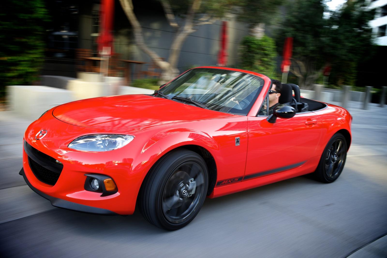 2013 Mazda MX-5 Miata, Front-quarter view, exterior, manufacturer