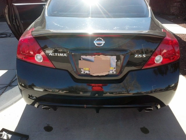 Picture of 2011 Nissan Altima Coupe 2.5 S, exterior