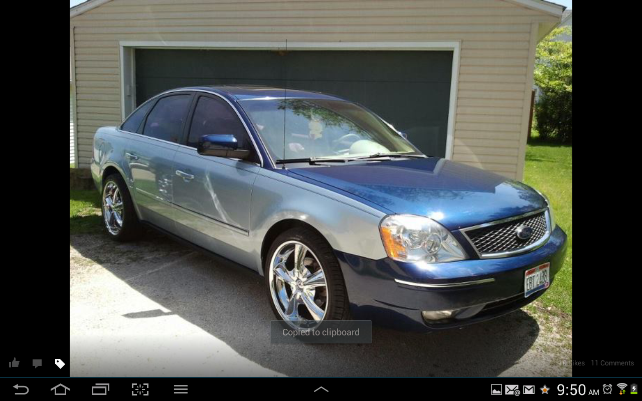 Ford Five Hundred Sel Awd Pic on 2007 Ford Five Hundred Sel Awd Specs