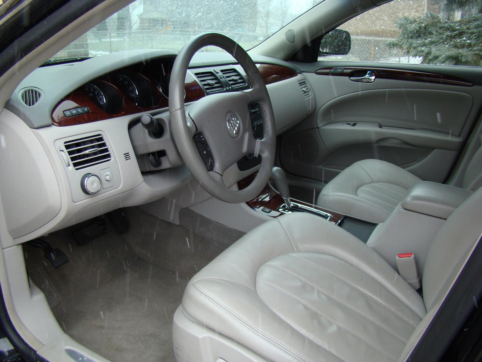 Buick lucerne interior photos