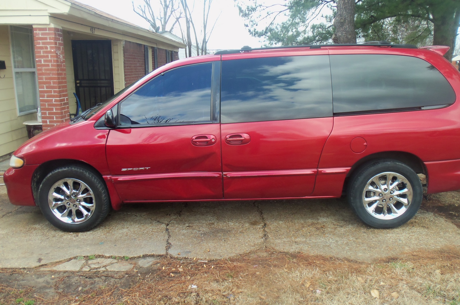 picture of 2000 dodge grand caravan 4 dr se passenger van extended. Cars Review. Best American Auto & Cars Review