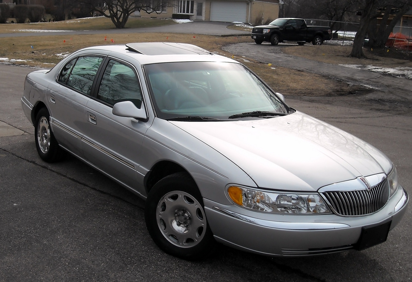 2000 Lincoln Continental Pictures Cargurus