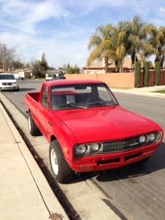 1978 Datsun 620 Pick-Up, Exterior, exterior