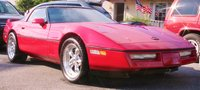 1984 Chevrolet Corvette Coupe, Picture of 1984 Chevrolet Corvette Base, exterior