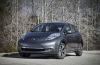 2013 Nissan LEAF, Front-quarter view, exterior, manufacturer, gallery_worthy