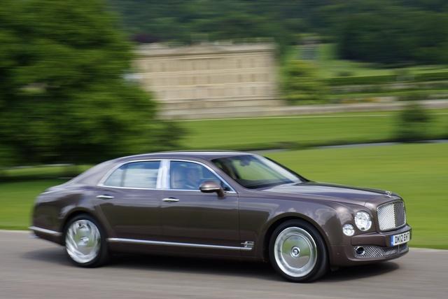2013 Bentley Mulsanne, Profile view, exterior, manufacturer