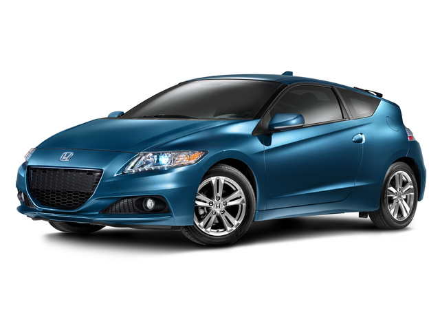 2013 Honda CR-Z, Front-quarter view, exterior, manufacturer, gallery_worthy