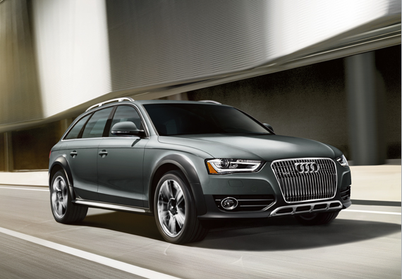 2013 Audi Allroad, Front-quarter view, exterior, manufacturer
