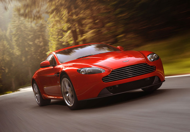 2013 Aston Martin V8 Vantage, Front-quarter view, exterior, manufacturer, gallery_worthy