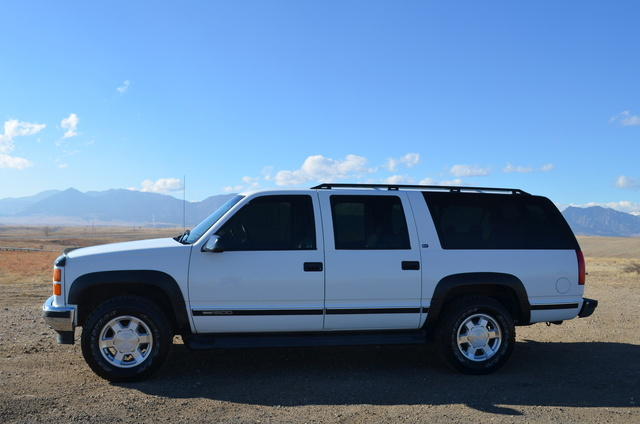 Picture of 1999 GMC Suburban K1500 SLT 4WD, exterior, gallery_worthy
