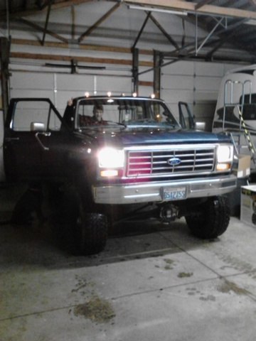 1986 Ford F-350, new turbo, exterior