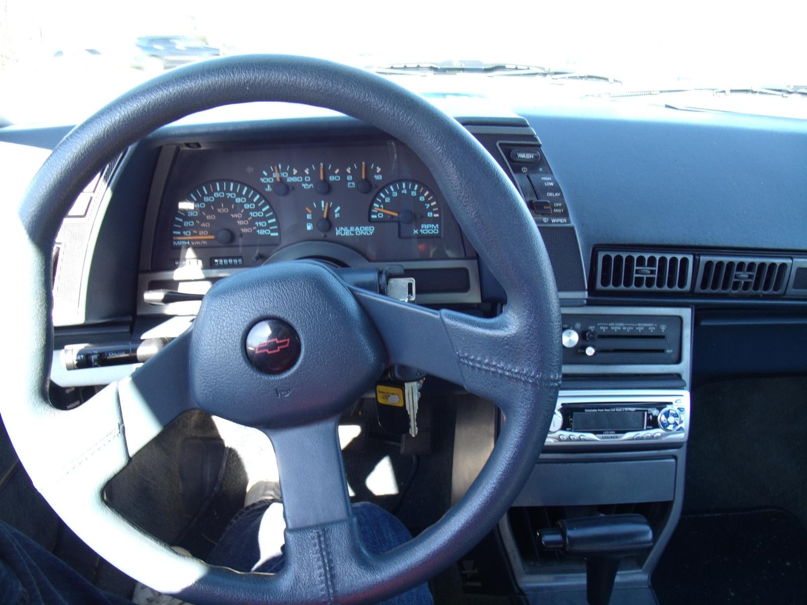 1991 Chevrolet Cavalier - Interior Pictures - CarGurus