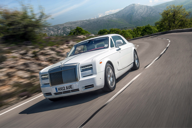2013 Rolls-Royce Phantom Coupe, Front-quarter view, exterior, manufacturer, gallery_worthy