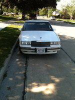 1990 Cadillac Eldorado Base Coupe, After restoration, exterior