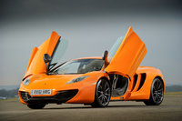 2013 McLaren MP4-12C, Front-quarter view, manufacturer, exterior